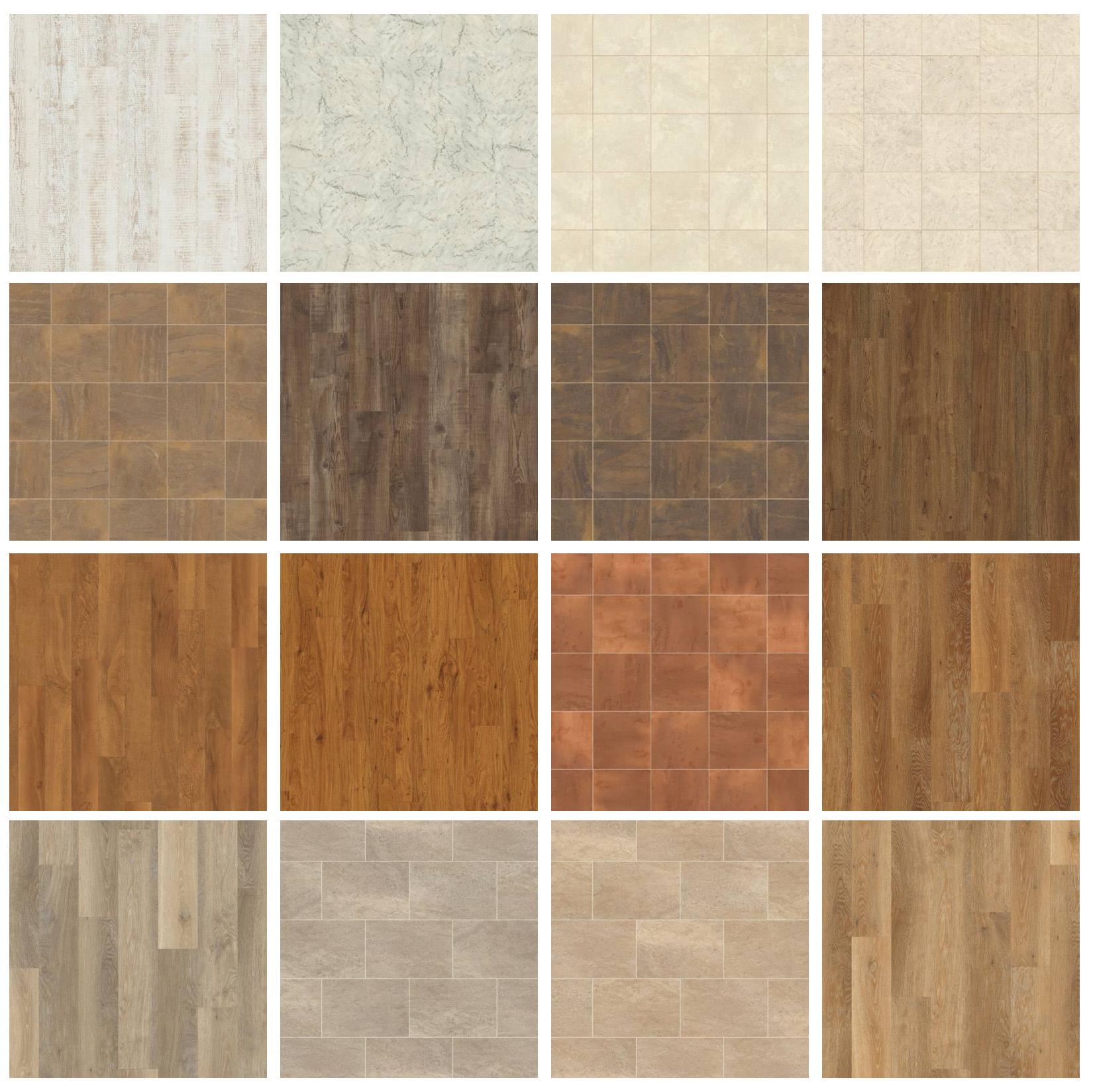 Fancy tile flooring